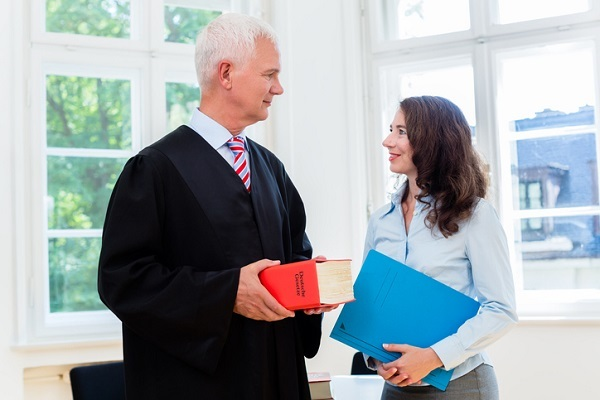 Working as a paralegal involves helping lawyers prepare for cases