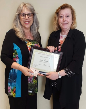 Ottawa campus, employee of the month, award