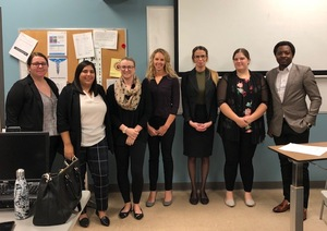 mock interviews, dressed for success, medical laboratory students